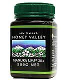 アクティブマヌカハニー UMF20+ 500g ハニーバレー(100% Pure New Zealand Honey)マヌカ蜂蜜