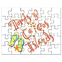 CafePress - Turks And Caicos - - Jigsaw Puzzle, 30 pcs.