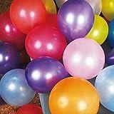 誕生日 風船 バルーン 飾り 飾り付け 結婚式 カラフル ゴム風船 たっぷり 大容量 100個入り アソートセット パールカラー パーティー ウエディング 36cm
