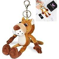 キーホルダー かわいい 動物 ぬいぐるみ 人気 ふわふわ バッグチャーム 雑貨 おもちゃ プレゼント