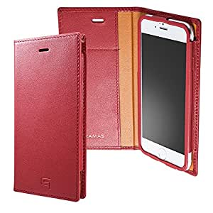 GRAMAS LC634 Full Leather Case for iPhone 6s/6 (Red)