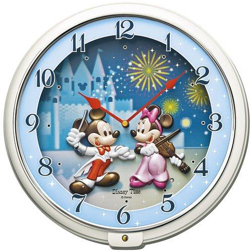 SEIKO CLOCK(セイコークロック)Disney (ディズニータイム) 掛け時計 ミッキー&フレンズ ミッキーマウス ミニーマウス FW568W