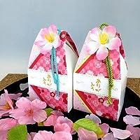 【プチギフト】 桜だより (ハートクッキー 6枚)