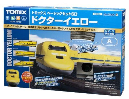TOMIX Nゲージ 90160 ベーシックセットSD ドクターイエロー