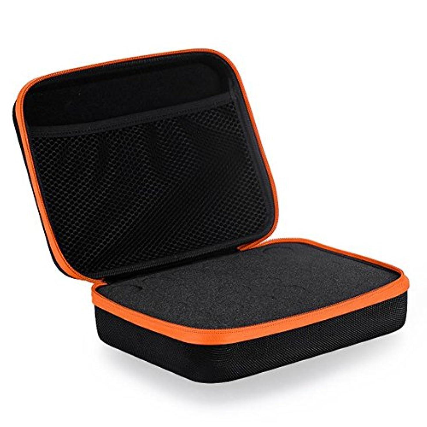メダルベット保持する30グリッドエッセンシャルオイル収納ケース メイクストレージバッグ 精油収納ボックス EVA材質 5ML/10ML/15MLのため