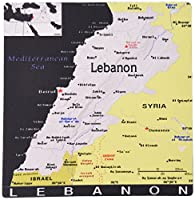 3dRose 8 x 8 x 0 25 Inches Modern Map Of Lebanon in Vivid Color Mouse Pad (mp_159780_1) [並行輸入品]