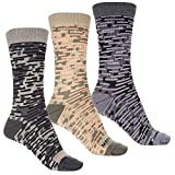 メレル (メレル) Merrell レディース インナー・下着 ソックス Striped Socks - Crew, 3-Pack [並行輸入品]