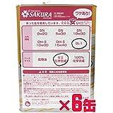 【訳あり オイル缶 6缶セット】 ディーゼル エンジン オイル DL-1 5W-30 (セミ化学合成油) 4L×6缶 (1ケース) サクラ(SAKURA) (日本製 4輪車用)