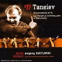 Taneiev: Sym No 4