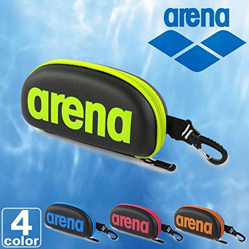 アリーナ(arena) ポーチ ARN-6442 1602 メンズ レディース BYL.ブラック×イエロー(蛍光) F