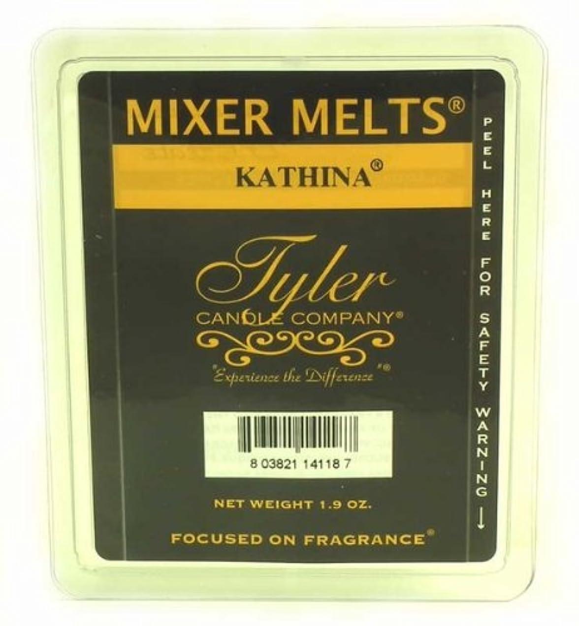 キャメル礼拝エレクトロニックTyler Candles Mixer Melts - Kathina by Tyler Candles