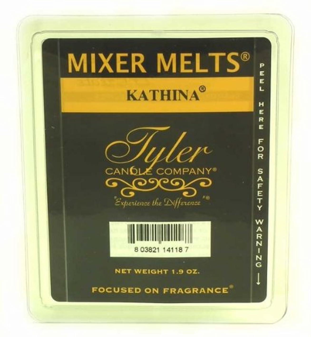 カバレッジコミットメント十億Tyler Candles Mixer Melts - Kathina by Tyler Candles