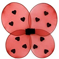 Ladybug Child Wings てんとう虫の子供の翼?ハロウィン?サイズ:One Size