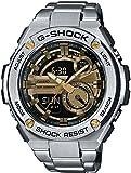 ジーショック GST-210D-9A G-Steel Series Luxury Watch - Silver/Gold / One Size [並行輸入品]