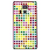 YESNO ブロック ホワイトマルチ (クリア) / for REGZA Phone T-01D/docomo DTSR1D-PCCL-201-N025