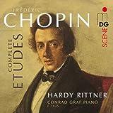 Etudes Op. 10 & 25 & Trois Nouvelles Etudes by F. Chopin (2012-05-04)