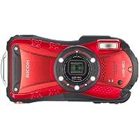 RICOH 防水デジタルカメラ RICOH WG-20 レッド 防水10m耐ショック1.5m耐寒-10度 RICOH WG-20RD 08078