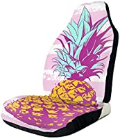 Watercolor Pineapple Universal Fit Seat Cover1pcs