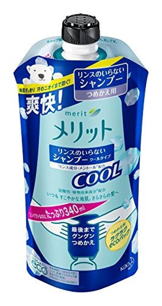 触覚基準ピグマリオンメリット リンスのいらないシャンプークール つめかえ用 340ml Japan