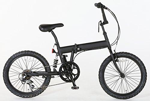 折りたたみ BMX X-206 20インチ 6段変速 自転車