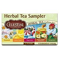 Celestial Seasonings Herbal Tea Sampler ハーブティー18杯分 [並行輸入品]