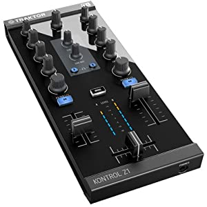 Native Instruments 2チャンネル式ミキシング・コントローラ TRAKTOR Kontrol Z1 デジタルフェーダー