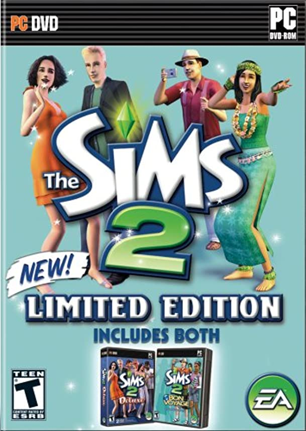 クランプ飽和するペストThe Sims 2 Limited Edition (Includes Sims 2 Deluxe and Bon Voyage) (輸入版)