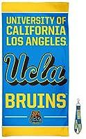 UCLA Bruinsプレミアムビーチタオルストラップ&キーリングギフトセット