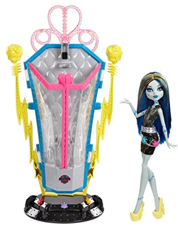 [モンスターハイ] Monster High Freaky Fusion再充電Chamber Frankie Stein Doll and Playset bjr46 [並行輸入品]