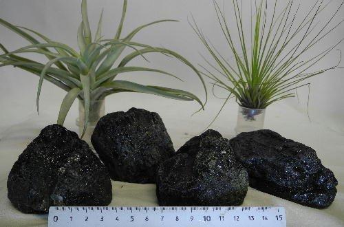 ブラックトルマリン原石塊300~400g