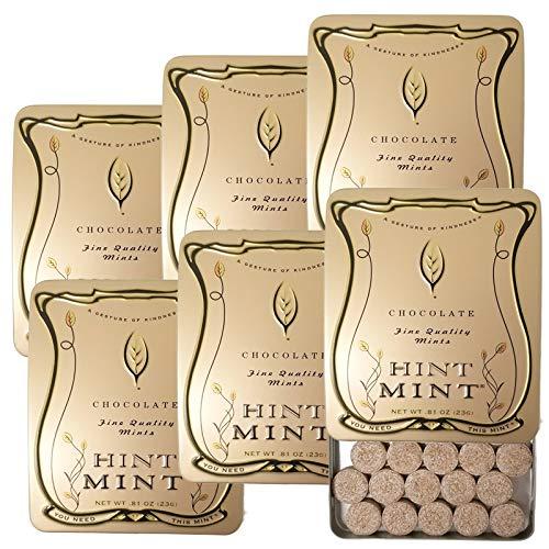ヒントミント クラシックラベル チョコレートミント 23g×6個セット