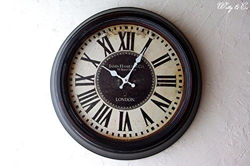 RoomClip商品情報 - STEEL RIM CLOCK 47cm James Hamilton