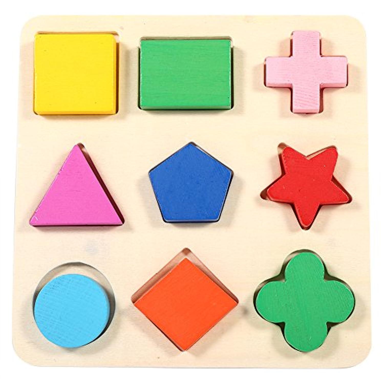 木製玩具 赤ちゃん ぱずるボックス 型はめ キッズ 積み木 ブロック 木のおもちゃ マッチング 幾何認知 図形認知 幼児用 はめこみ 誕生日 立体パズル ブロック