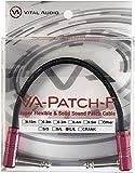 Vital Audio VA-Patch-F-0.15m L/L 高品位新素材パッチケーブル
