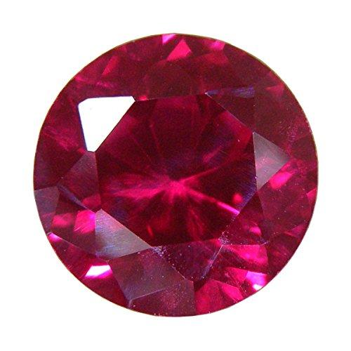 [해외][테 소로] TESORO 합성 루비 라운드 컷 30 개들이 gs-sp-3871/[Tesoro] TESORO Synthetic Ruby Round Cut 30 pieces gs-sp-3871