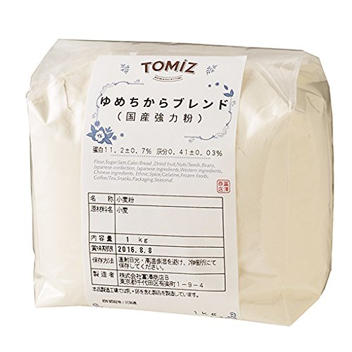 ゆめちからブレンド(横山製粉) / 1kg TOMIZ/cuoca(富澤商店)