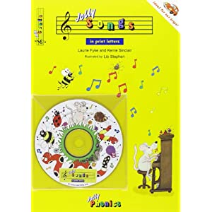 Jolly Songs: In Print Letters (Jolly Phonics)