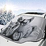 車の日よけ車のフロントガラスカバーかわいい猫のスケッチ紫外線カット 断熱 目隠し簡単着脱 カー用品 雪対策グッズ 紫外線 落葉対策 150 * 120cm カーユニバーサル