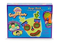 Cranium Giggle Gear Mega Mask with Robot, Bug, and Alien Parts
