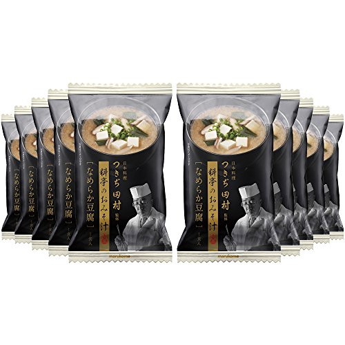 マルコメ つきぢ田村監修 料亭のおみそ汁 なめらか豆腐 1食