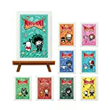 僕のヒーローアカデミア×サンリオキャラクターズ トレーディングミニアートフレーム BOX商品 1BOX=9個入り、全9種類