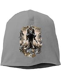 【Dera Princess】ユニセックス ニット帽 The Assassinロゴ コットン ニットキャップ 帽子 オールシーズン 被れる
