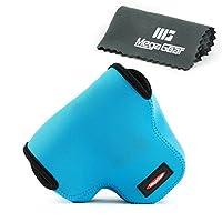 MegaGear ''Ultra Light'' Neoprene Camera Case Bag with Carabiner for Panasonic Lumix DMC-FZ300 Digital Camera [並行輸入品]