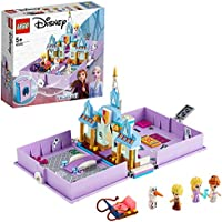 LEGO Disney Anna and Elsa's Storybook Adventures 43175 Creative Building Kit for Fans of Disney's Frozen 2