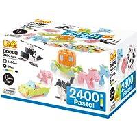 LaQ ラキュー Basic 2400 ベーシック 2400 Pastel パステル 2400pcs+60pcs