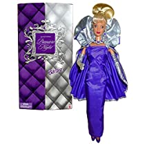 Mattel Year 1999バービーHome ShoppingネットワークHSN SpecialエディションSeries 12インチ人形–Premiere Nightバービーwith Lilac Gown、手袋、靴、ヘアブラシ、ネックレス、イヤリングand人形Stand