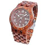 ファション 木製腕時計