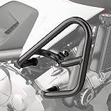 UltraSupplier ブラックハイウェイクラッシュバーガード Honda NC750X NC750S NC700X NC700S DCT用