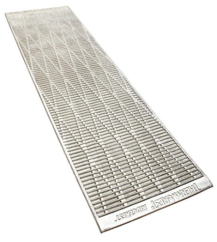 THERMAREST(サーマレスト) アウトドア用マットレス クローズドセルマットレス リッジレスト ソーライト シルバー/サージ R (51×183×厚さ1.5cm) R値2.8 30207 【日本正規品】