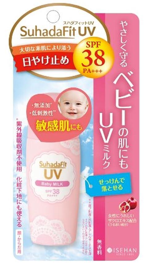 便宜湿気の多いプロフィールスハダフィットUV ベビーミルク